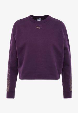 HOLIDAY PACK CREW  - Sweatshirt - plum purple