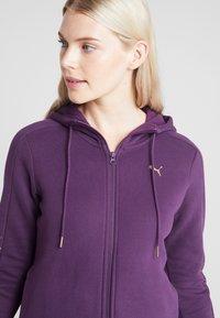 Puma - HOLIDAY PACK HOODIE  - Sweatjakke /Træningstrøjer - plum purple - 4