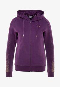 Puma - HOLIDAY PACK HOODIE  - Sweatjakke /Træningstrøjer - plum purple - 3