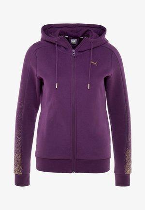 HOLIDAY PACK HOODIE  - Mikina na zip - plum purple