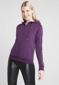 Puma - HOLIDAY PACK HOODIE  - Sweatjakke /Træningstrøjer - plum purple - 0