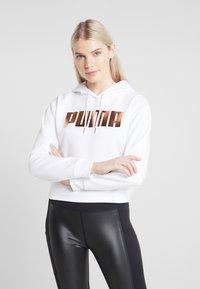 Puma - HOLIDAY PACK HOODIE  - Hoodie - white - 0