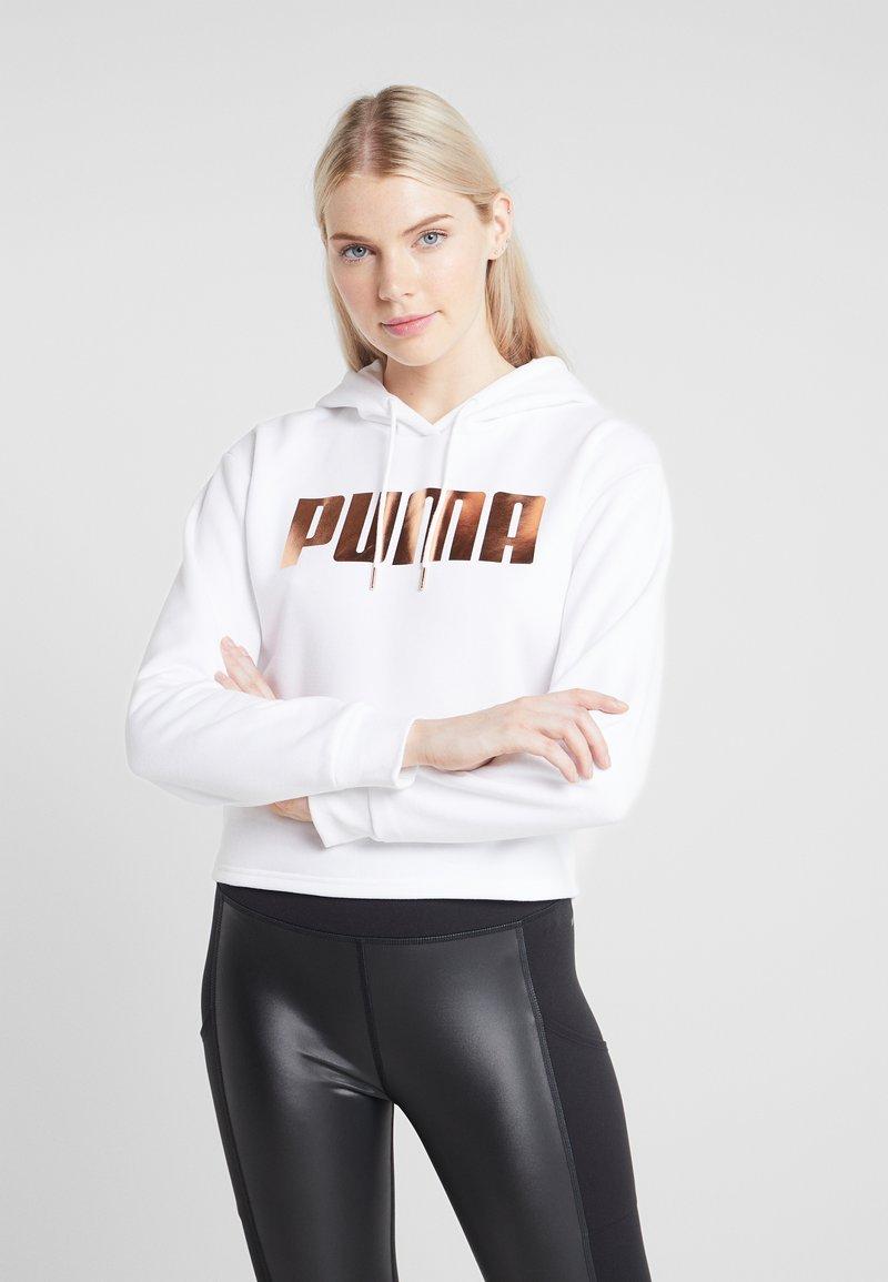 Puma - HOLIDAY PACK HOODIE  - Hoodie - white