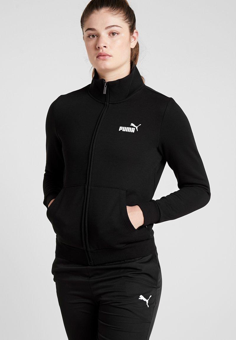 Puma - TRACK  - Zip-up hoodie - black