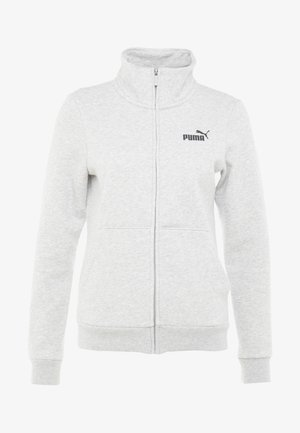 TRACK  - Hoodie met rits - light gray heather