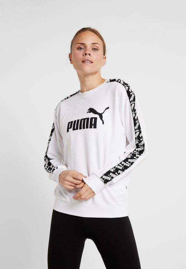 AMPLIFIED CREW  - Sweatshirt - white