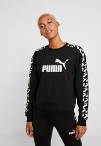 Puma - AMPLIFIED CREW  - Felpa - black - 0