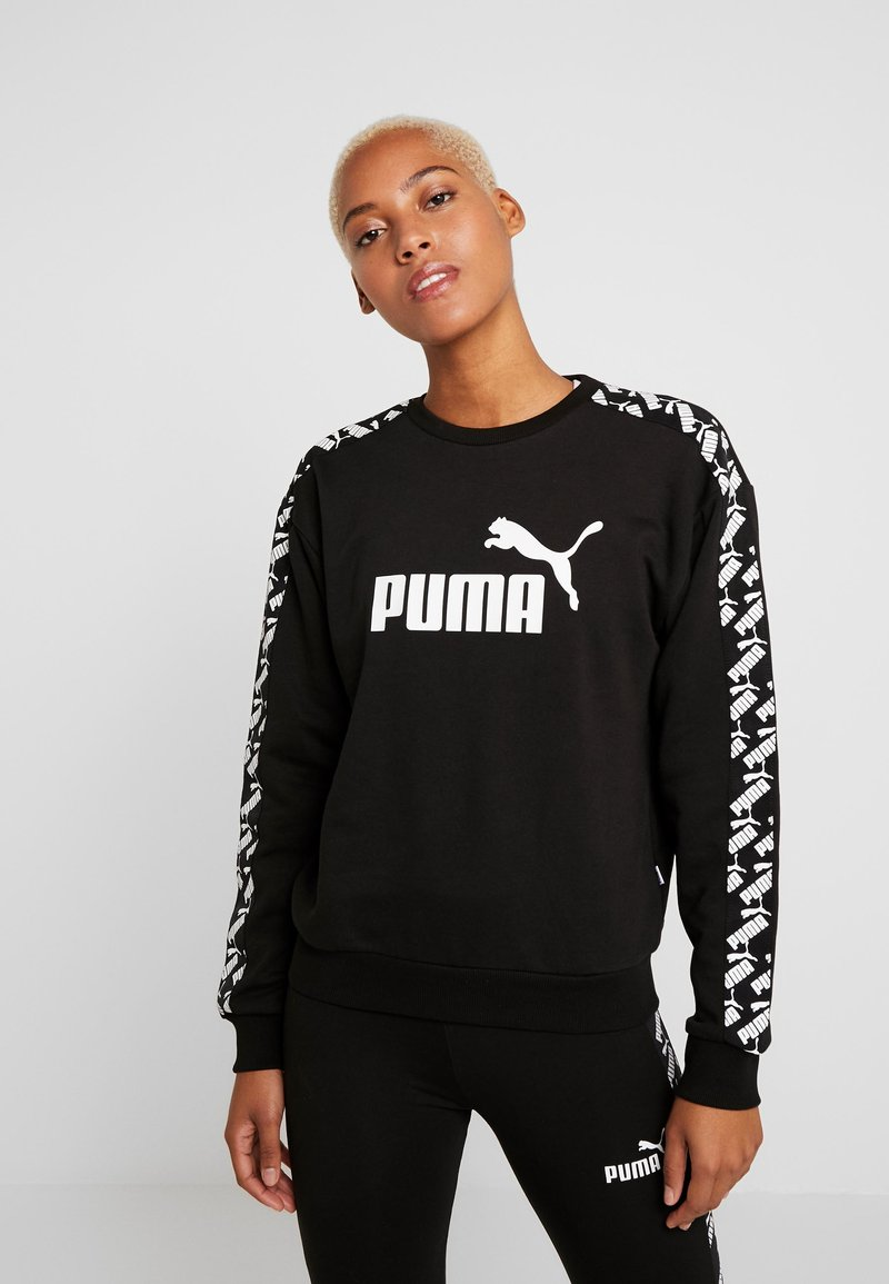 Puma - AMPLIFIED CREW  - Felpa - black