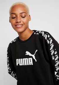 Puma - AMPLIFIED CREW  - Felpa - black - 3