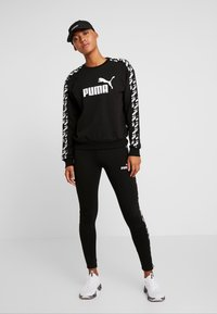 Puma - AMPLIFIED CREW  - Felpa - black - 1