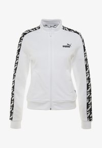 Puma - AMPLIFIED TRACK JACKET  - veste en sweat zippée - white - 5