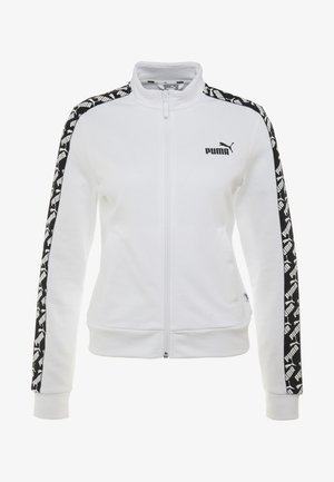 AMPLIFIED TRACK JACKET  - Zip-up hoodie - white