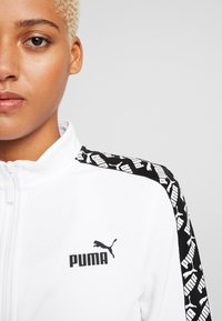 Puma - AMPLIFIED TRACK JACKET  - veste en sweat zippée - white - 4