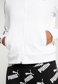 Puma - AMPLIFIED TRACK JACKET  - veste en sweat zippée - white - 6