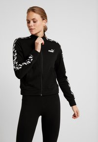 Puma - AMPLIFIED TRACK JACKET  - Zip-up hoodie - black - 0