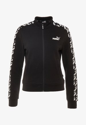 AMPLIFIED TRACK JACKET  - veste en sweat zippée - black