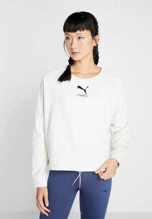 TILITY CREW - Sweatshirt - white heather