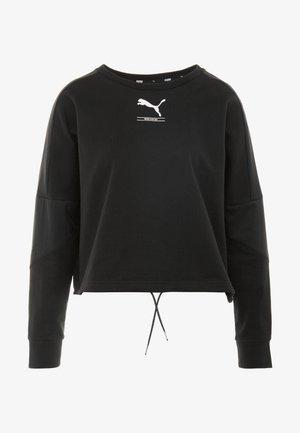 TILITY CREW - Sweatshirt - puma black