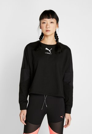 TILITY CREW - Sweater - puma black
