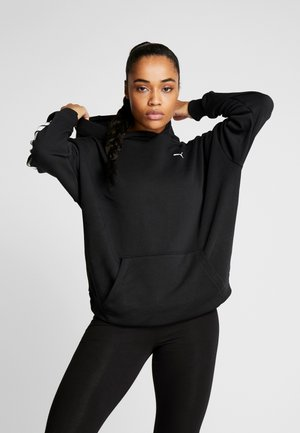 REBEL HOODY - Huppari - black