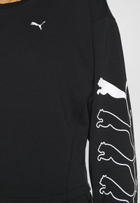 Puma - REBEL CREW - Huppari - black