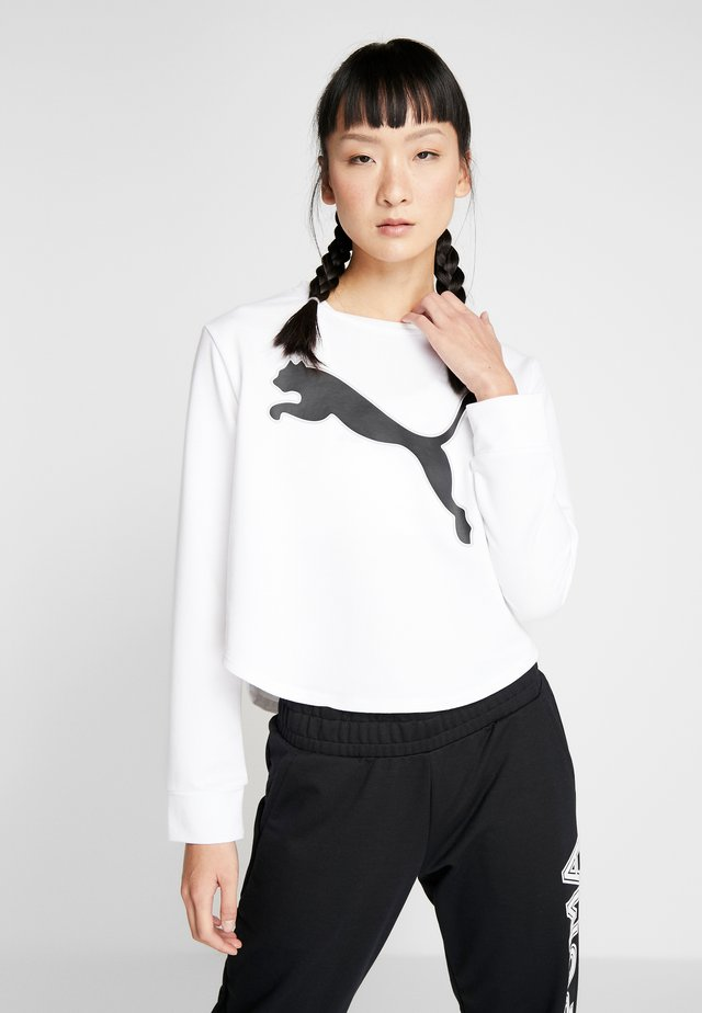 MODERN SPORTS CREW - Collegepaita - puma white