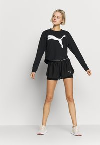 Puma - MODERN SPORTS CREW - Sweatshirt - puma black - 1