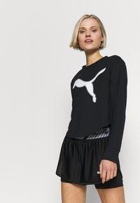 Puma - MODERN SPORTS CREW - Sweatshirt - puma black - 0