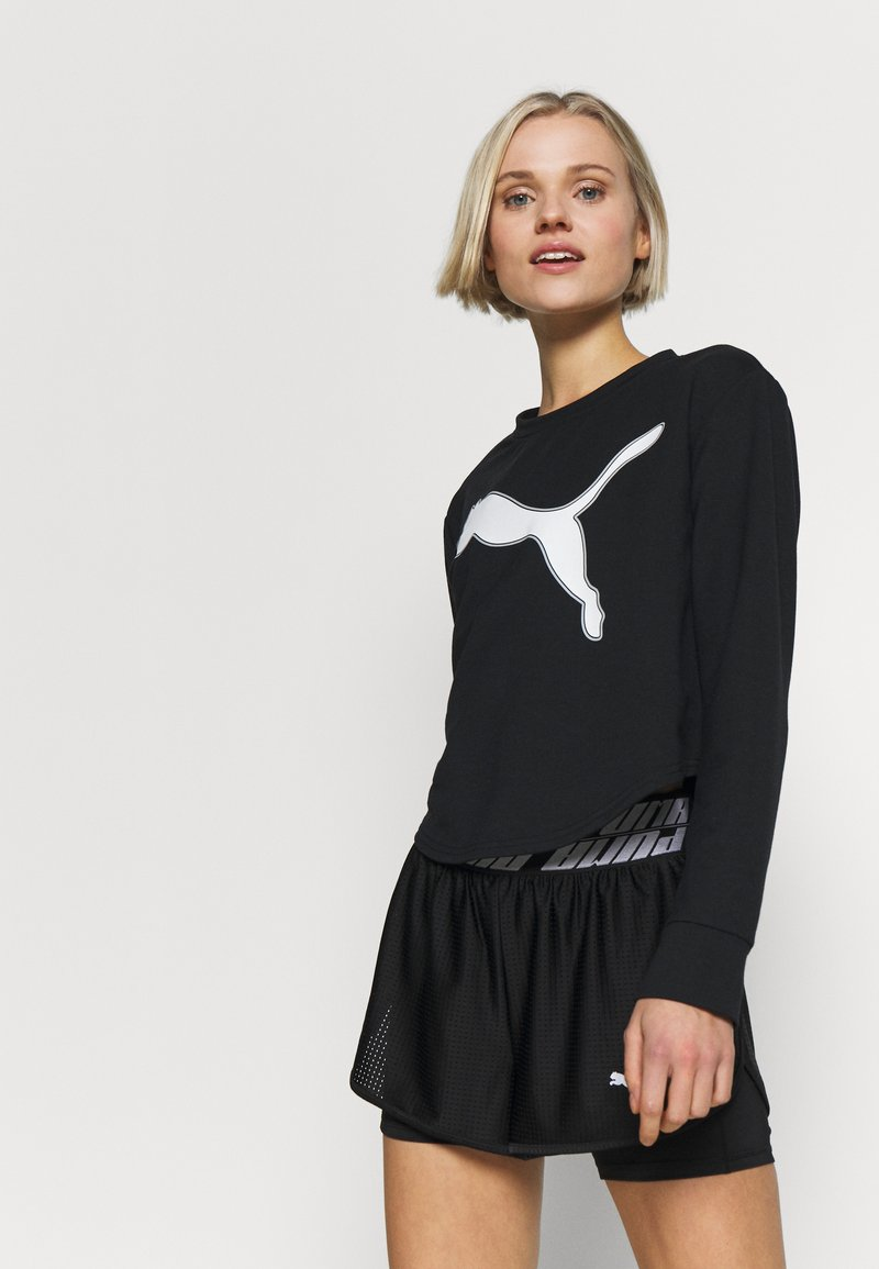 Puma - MODERN SPORTS CREW - Sweatshirt - puma black