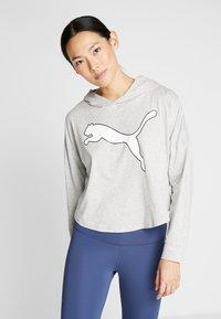Puma - MODERN SPORTS COVER UP - T-shirt de sport - light gray heather - 0