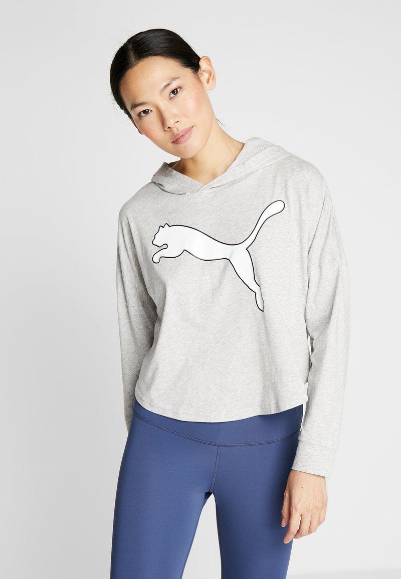 Puma - MODERN SPORTS COVER UP - T-shirt de sport - light gray heather