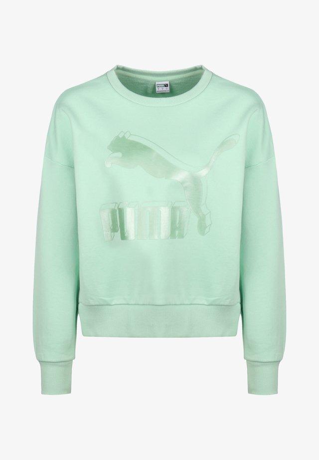 Sweatshirt - mist green/metallic