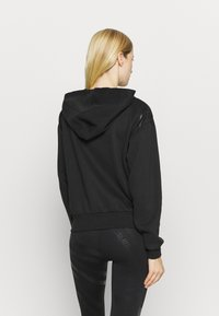 Puma - TRAIN FULL ZIP - Bluza rozpinana - black - 2