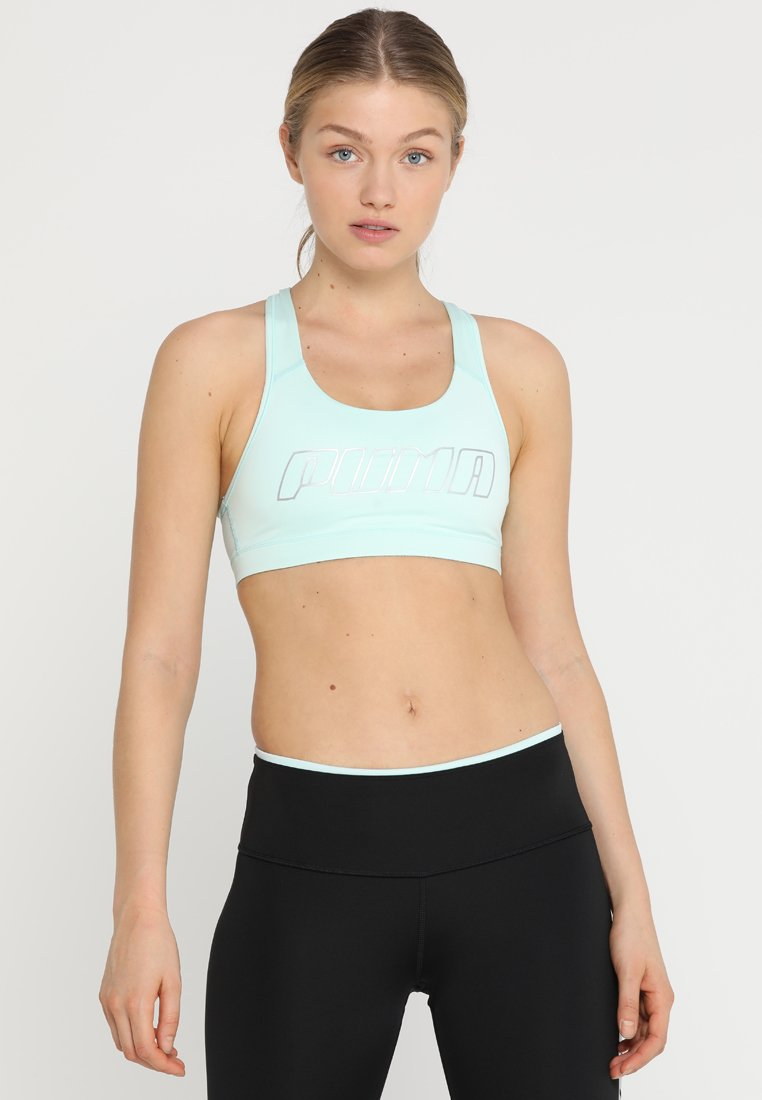Puma - 4KEEPS BRA - Sports bra - fair aqua/silver