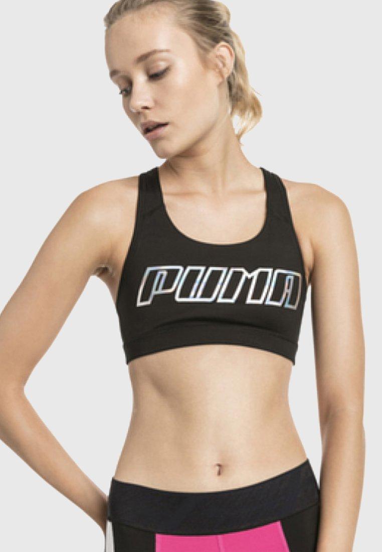 Puma - 4KEEPS BRA - Sport BH - black