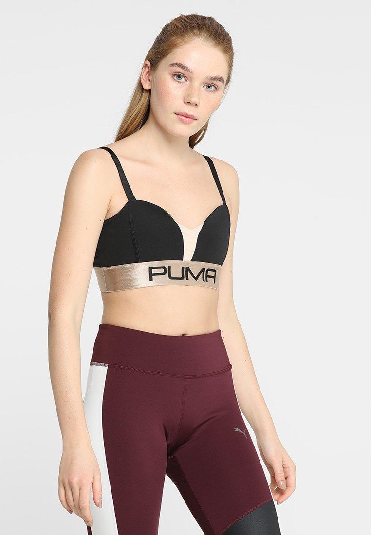 Puma - SPORT BRALETTE - Sports bra - black