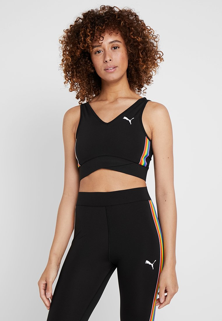 Puma - PERFORMANCE CROP  - Sports bra - black