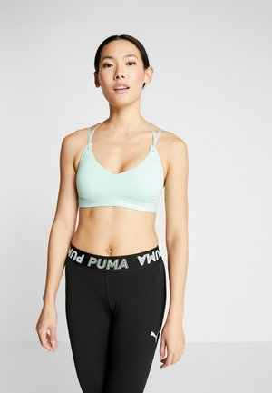STRAPPY STUDIO BRA - Sports bra - mist green