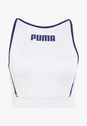 PAMELA  REIF X PUMA CROP TOP - Funktionsshirt - white