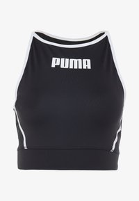 Puma - PAMELA  REIF X PUMA CROP TOP - Sports shirt - black - 4