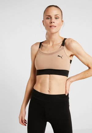 PAMELA  REIF X PUMA TWISTED BACK CROP  - Sport BH - chantarelle