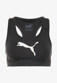 Puma - 4KEEPS BRA - Urheiluliivit - black/white - 4