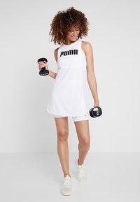 Puma - PERFORMANCE DRESS - Sportovní šaty - white - 1
