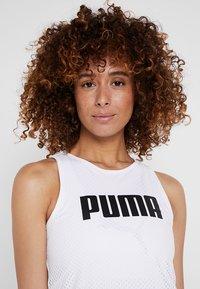 Puma - PERFORMANCE DRESS - Sportovní šaty - white - 3