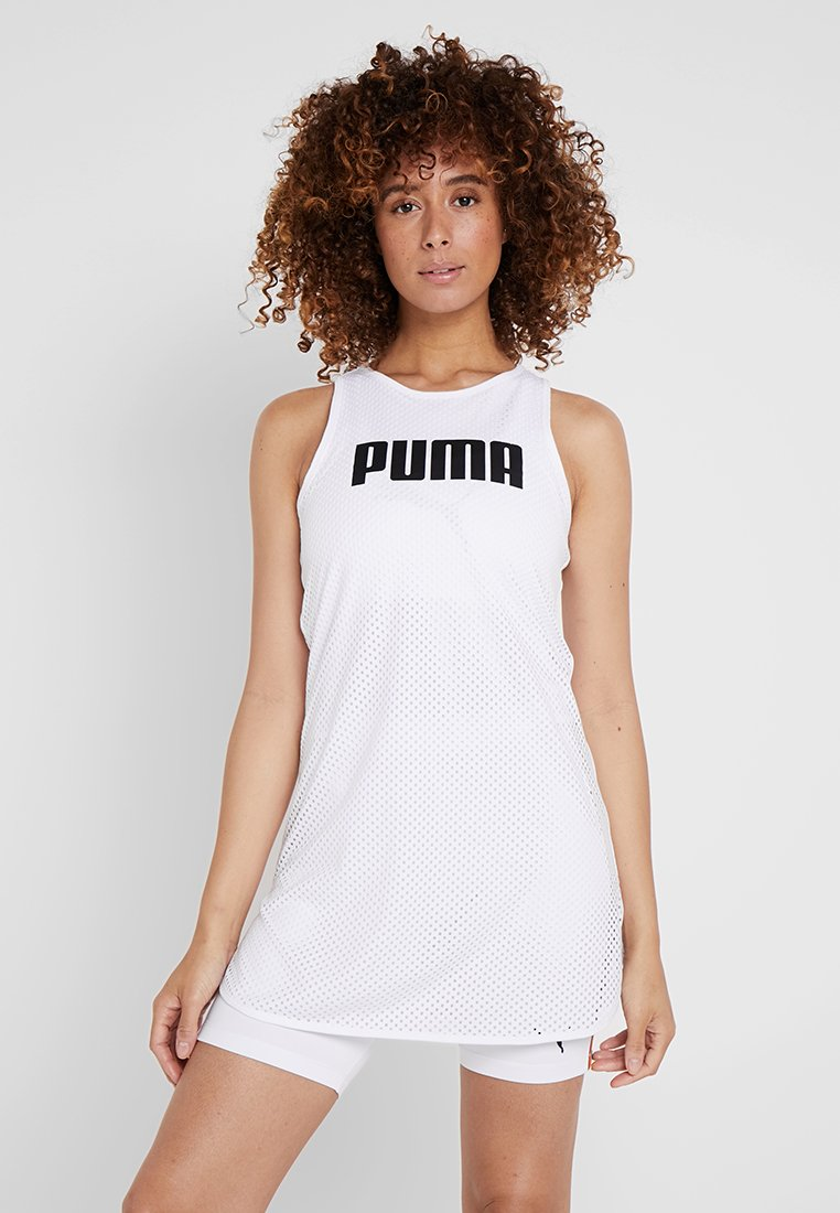 Puma - PERFORMANCE DRESS - Sportovní šaty - white