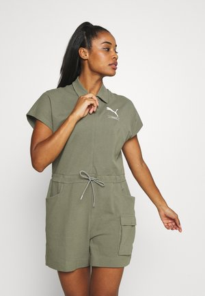 NU-TILITY JUMPSUIT - Trainingspak - deep lichen green