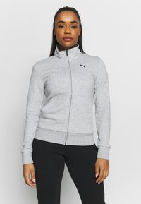 Puma - CLASSIC SUIT SET - Survêtement - light gray heather - 0