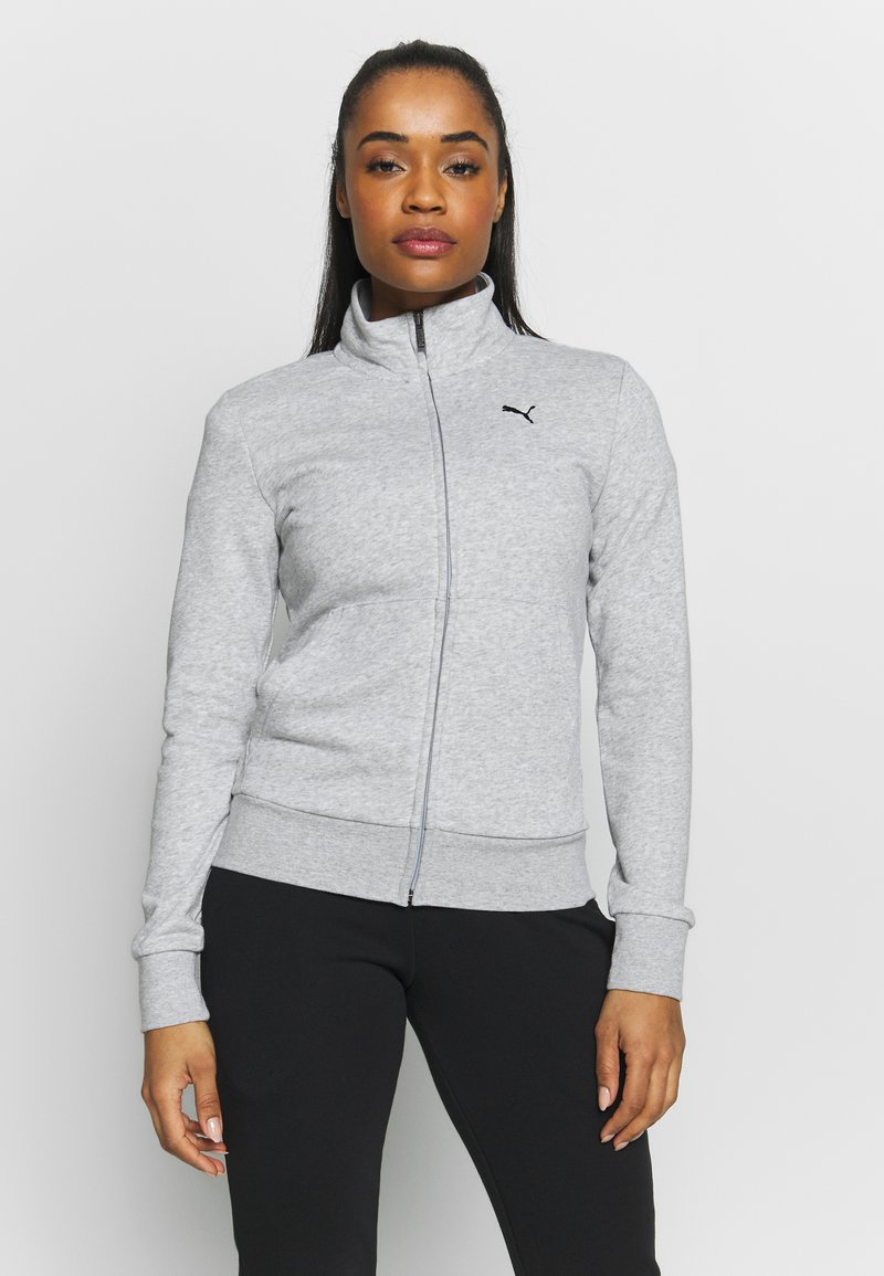 Puma - CLASSIC SUIT SET - Survêtement - light gray heather