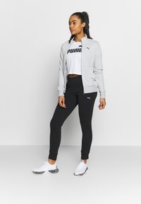 Puma - CLASSIC SUIT SET - Survêtement - light gray heather - 1