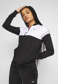 Puma - COLORBLOCK TRICOT SUIT - Tracksuit - black - 3